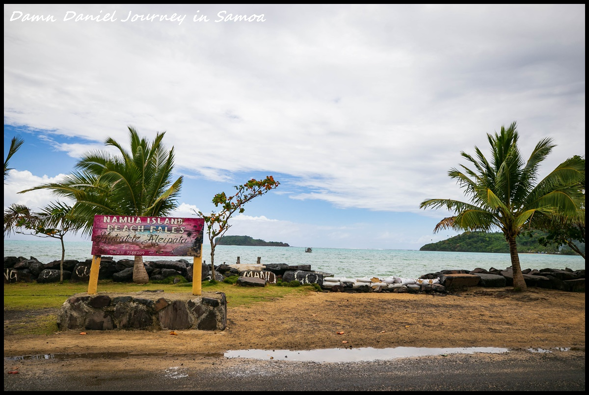 """[薩摩亞] 南洋島國獨樹一幟的""""坐大腿""""文化 & 遺世獨立的悠閒小島民宿 Namua Island Beach Fale @小盛的流浪旅程"""