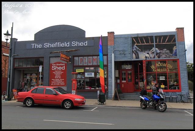 【澳洲塔斯馬尼亞】充滿藝術氣息的壁畫小鎮Sheffield & ETC藍莓Muffin @小盛的流浪旅程