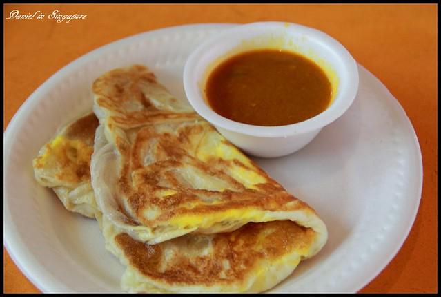 【新加坡】小印度區Tekka Centre(竹腳中心)印度煎餅(Rotee) 搭配咖哩的美妙風味 @小盛的流浪旅程