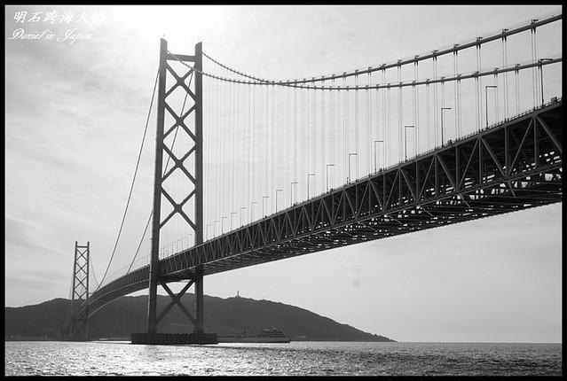 【日本神戶】明石海峽大橋 驚異的世界第一懸索橋梁工程 @小盛的流浪旅程