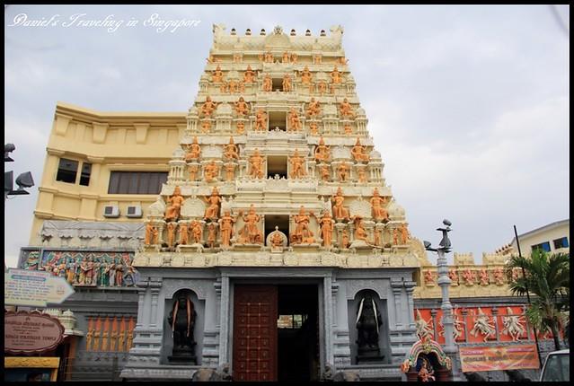 【新加坡】Katong漫遊 Peranakan Terrace House & Sri Senpaga Vinayagar Temple 漫步在清幽寧靜的娘惹街道以及欣賞感受優雅的印度廟宇 @小盛的流浪旅程