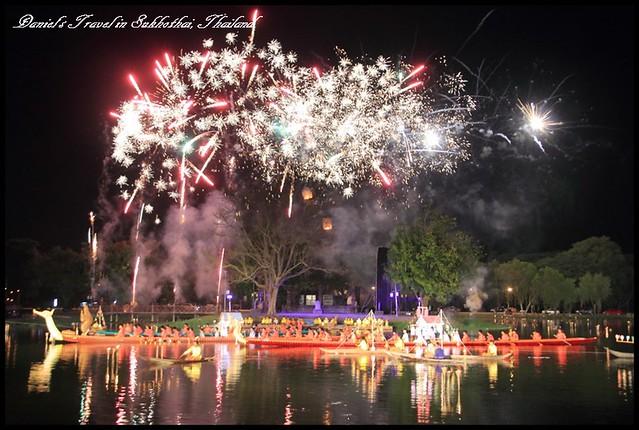 【泰國素可泰】泰國最盛大又傳統的慶典 感受泰北優雅又浪漫的水燈節氣氛 @小盛的流浪旅程