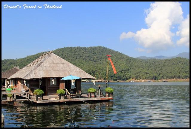 【泰國清邁】Sri Lanna National Park(斯里蘭納國家公園)漫步於超悠閒的山中湖景、品嘗美味的在地湖鮮 @小盛的流浪旅程