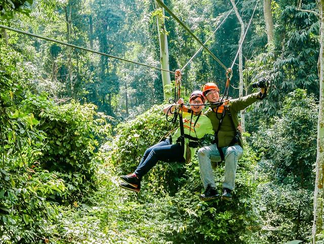 【泰國清邁】Flying Squirrels เอารถเราไป 我在泰北熱帶雨林內的穿梭飛翔 @小盛的流浪旅程
