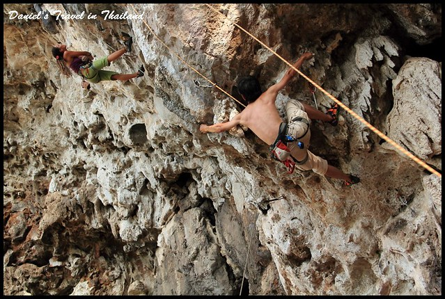【泰國清邁】清邁極限運動天然岩場攀岩初體驗 @小盛的流浪旅程