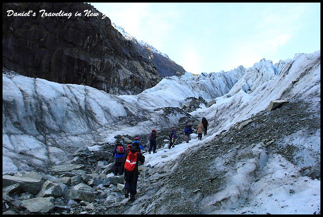 【紐西蘭】Fox Gracier福斯冰河冰川探險 陷入絢爛且光彩奪目的湛藍世界 @小盛的流浪旅程