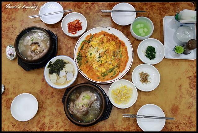 【韓國釜山】五福蔘雞湯 西面人氣美食之清爽甘醇的鮮美風味 @小盛的流浪旅程