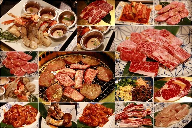 【日本東京】燒肉亭 六歌仙和牛吃到飽 過年自由行之邪惡的燒肉三部曲之趴兔 @小盛的流浪旅程
