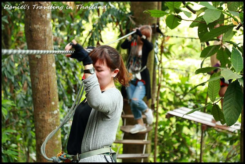 【泰國噠叻】2018象島自駕遊 樹頂冒險公園(Treetop Adventure Park) 恣意地飛越在象島原始叢林 @小盛的流浪旅程