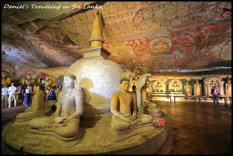 [斯里蘭卡丹布勒] 世界文化遺產之旅 丹布勒石窟寺 探索建造在5座岩洞之下之穴中寺 超越2000年之歷史古剎 – 獲選為2019年寂寞星球最佳旅遊勝地 @小盛的流浪旅程