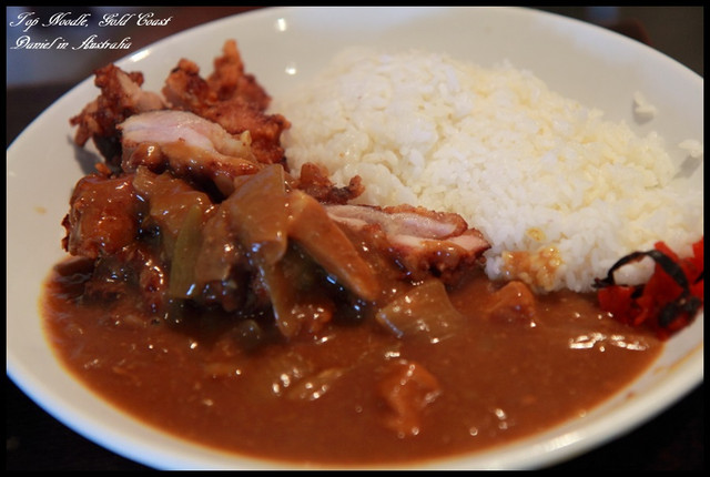 【澳洲黃金海岸】Top Noodle難得一見的美味日式咖哩 @小盛的流浪旅程