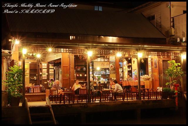 【泰國夜功】Ampawa水上市場河景旅店Thanicha Healthy Resort @小盛的流浪旅程