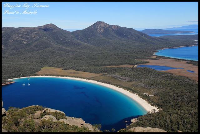 【澳洲塔斯馬尼亞】沉醉在浪漫淒艷的絕美海灣Wineglass Bay酒杯灣 @小盛的流浪旅程
