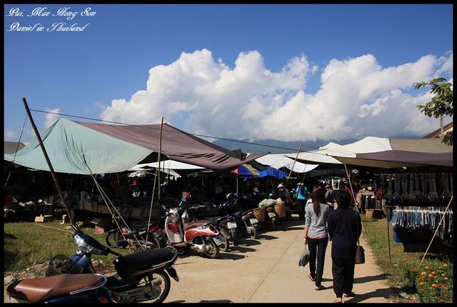 【泰國湄洪順】PAI城最終回 PAI城當地週三市集以及小吃 @小盛的流浪旅程