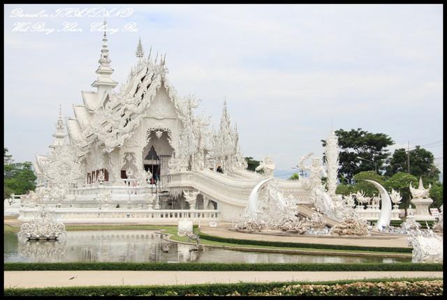 【泰國清萊】再訪WAT RONG KHUN 最精緻的廟宇藝術 依舊讓人感動萬分 @小盛的流浪旅程
