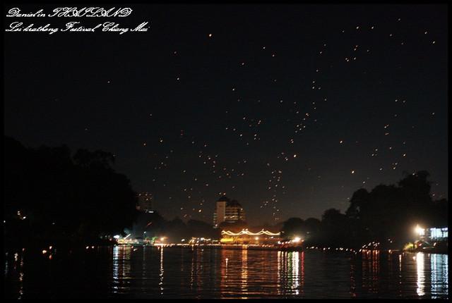 【泰國清邁】清邁年度節慶之Loi Krathong Festival水燈節 令人感動萬分的氛圍 @小盛的流浪旅程