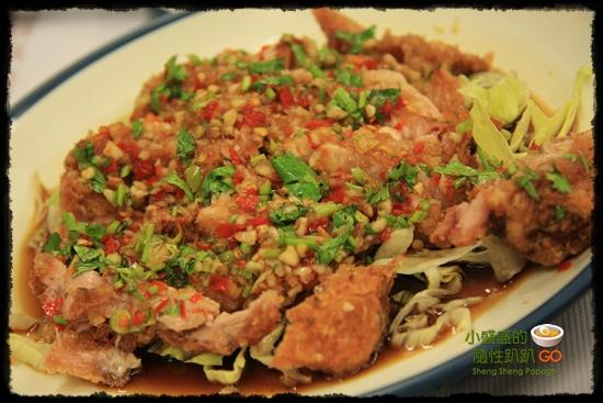 【泰國曼谷‧食】未知名的台式餐廳之這不是椒麻雞、這不是椒麻雞、這不是椒麻雞 @小盛的流浪旅程