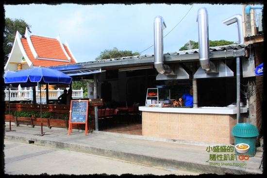 【泰國沙美島】沙美小吃五連發之泰式碳烤/可麗餅/香蕉煎餅/優格/烤蛋 @小盛的流浪旅程