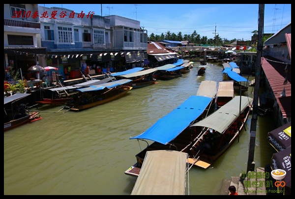 【泰國夜功】Ampawa 安帕瓦水上市場之特色且又多樣化小吃 @小盛的流浪旅程