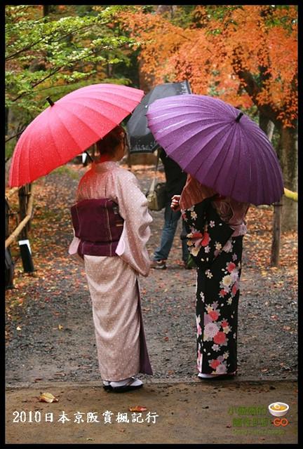 【日本京都】北野天滿宮旁之繽紛景緻 御土居賞楓記行 @小盛的流浪旅程