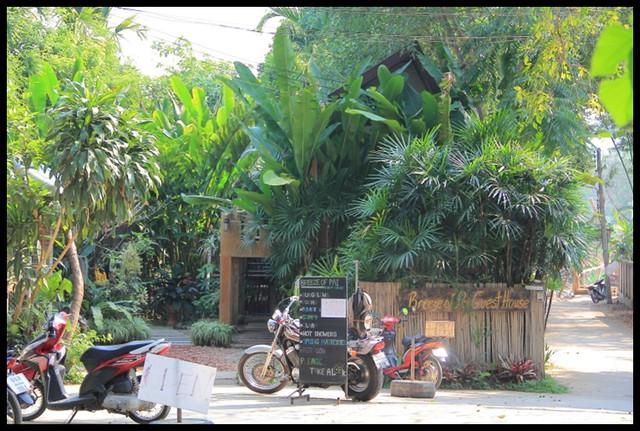 【泰國湄宏順】Breeze of Pai Guesthouse 綠意盎然的舒適旅店 @小盛的流浪旅程