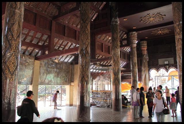 【泰國南邦】泰國最古老木造佛寺 Wat Phra That Lampang Luang @小盛的流浪旅程