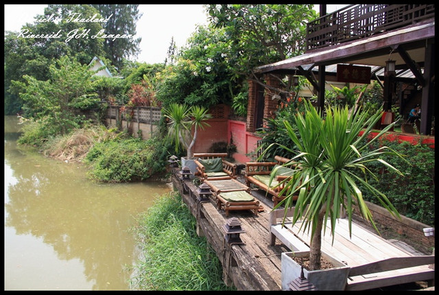 【泰國南邦】 The Riverside Guesthouse Lampang 一晚只要250的傳統柚木特色民宿 @小盛的流浪旅程