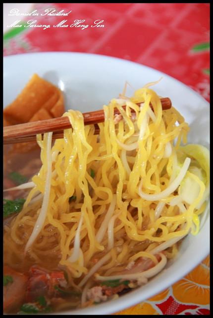 【泰國湄宏順】邁沙良小鎮 超便宜配料又豐富的特色麵攤 @小盛的流浪旅程