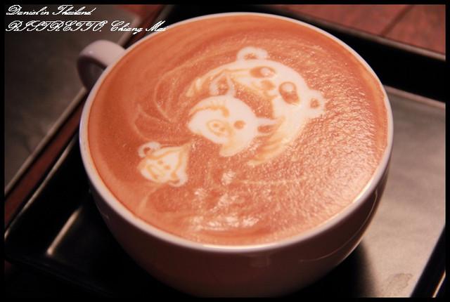 【泰國清邁】RISTR8TO2 世界拉花大賽第六名的咖啡店 @小盛的流浪旅程