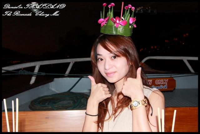 【泰國清邁】水燈節浪漫夜晚遊船河饗宴 The Riverside Bar & Restaurant @小盛的流浪旅程
