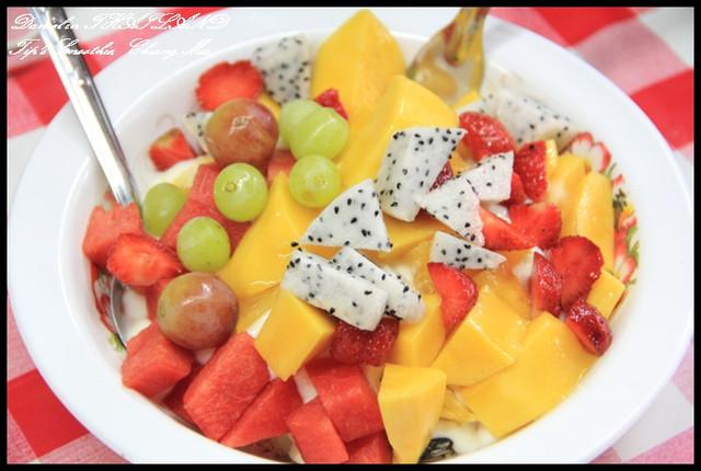【泰國清邁】Tip's Fruit Smoothie享受清邁最特別的水果饗宴 @小盛的流浪旅程