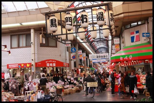 【日本大阪】大阪知名的生鮮市場 黑門市場 @小盛的流浪旅程
