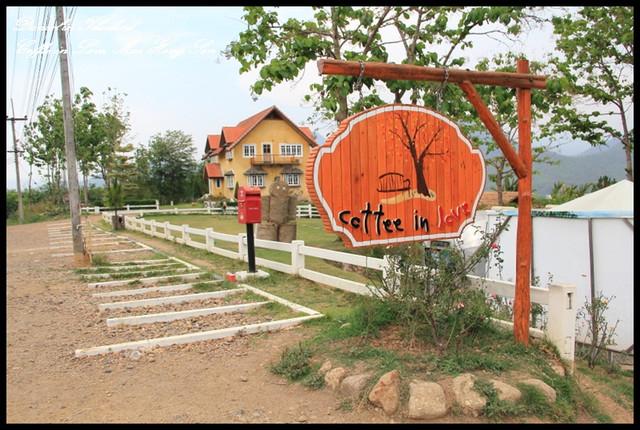 【泰國湄宏順】Pai城必訪景觀咖啡廳Coffee in love 不過焦糖拿鐵好甜XD @小盛的流浪旅程