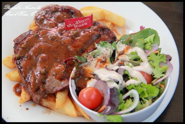 【澳洲布里斯本】Beach House 午餐時段特價牛排 @小盛的流浪旅程